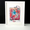 Decorque 'Hot Skin' by Lesley R Stevens Framed Graphic Art