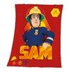 Herding Heimtextil Fleece-Decke Feuerwehrmann Sam