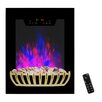 Golden Vantage Wall Mount Electric Fireplace