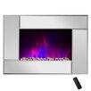Golden Vantage 5200 BTU Wall Mount Electric Fireplace Heater