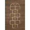 Art for kids Brown Area Rug