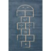 Art for kids Blue Area Rug