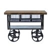 CDI International Industrial Kitchen Cart with Mango Top