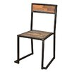 CDI International Teak Trend Dining Side Chair