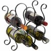 Hill Interiors 5 Bottle Tabletop Wine Rack