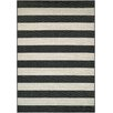 Couristan Afuera Yacht Club Onyx & Ivory Indoor/Outdoor Area Rug