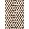 Couristan Chalet Spectrum Ivory/Brown Area Rug