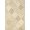 Couristan Super Indo-Natural Astra White Area Rug