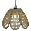 Loxton Lighting 30cm Wicker Novelty Pendant Shade