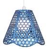 Loxton Lighting 30 cm Lampenschirm aus Korbgeflecht