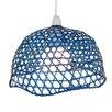 Loxton Lighting 33 cm Lampenschirm aus Korbgeflecht