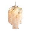 Loxton Lighting 22 cm Lampenschirm Glass Tube aus Glas