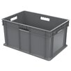 "Akro-Mils Straight Wall Container in 8.25"" H x 11.75"" W x 15.75"" D (Set of 12)"