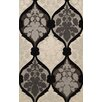 Dalyn Rug Co. Bella Gray/Black Area Rug
