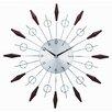 """Stilnovo 20"""" Noyes Mid Century Wall Clock"""