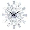 """Stilnovo 19.38"""" Mirrored Pixels Wall Clock"""