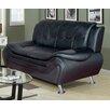 Beverly Fine Furniture Linda Leather Sofa
