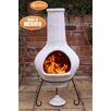 Gardeco Tibor Metal and Clay Chiminea