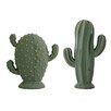 Bloomingville 2 Piece Decorative Cactus Set