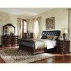 Standard Furniture Churchill Upholstered Sleigh Bed