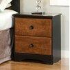 Standard Furniture Steelwood 2 Drawer Nightstand