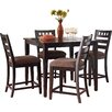 Standard Furniture Sparkle 5 Piece Counter Height Dining Set