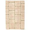 Loloey Handgewebter Teppich Kilim Paris in Beige/Tortora