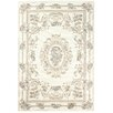 Loloey Vintage Velux Grey and Ivory Area Rug