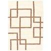 Loloey Handgewebter Teppich Paris in Beige/Tortora