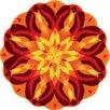 Grund America Knoweldge of Self Series Tapestry Mandala Art Area Rug