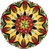 Grund America Mandala of Life Multi-Colored Area Rug