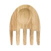 Sagaform Oval Oak Hand Salad Utensil (Set of 2)