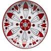 "Sagaform Santa 5.5"" Small Plate (Set of 4)"