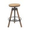 Cole & Grey Adjustable Height Bar Stool