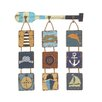 Cole & Grey Wood Rope Wall Décor