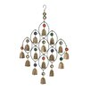 Metal Bead Bell Wind Chime - Cole & Grey Garden Statues and Outdoor Accents
