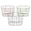 Cole & Grey 3 Piece Metal Wire Wire Basket Set (Set of 3)