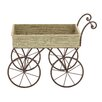 Cole & Grey Wood and Metal Handcart