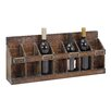 Cole & Grey 7 Bottle Tabletop Wine Rack