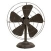 Cole & Grey Decorative Metal Fan