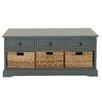 Leatherette Storage Entryway Bench Wayfair