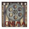 Cole & Grey Wood and Metal Movie Wall Decor