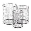 Cole & Grey 3 Piece Metal Container Basket Set