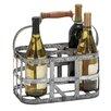 Cole & Grey 6 Bottle Tabletop Wine Rack