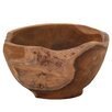 Cole & Grey Teak Wood Bowl