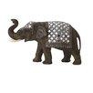 Cole & Grey Polystone Mirror Elephant Figurine