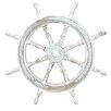 Cole & Grey Decorative Wood Ship Wheel