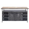 Cole & Grey Metal and Wood Buffet