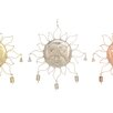 Metal Sun Wind Chime - Cole & Grey Garden Statues and Outdoor Accents