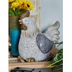 Farmhouse Outdoor Standing Hen Statue - Cole & Grey Garden Statues and Outdoor Accents